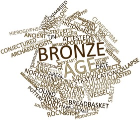 Word cloud for Bronze Age