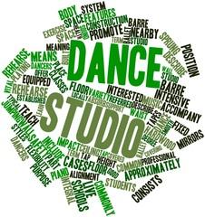 Word cloud for Dance studio