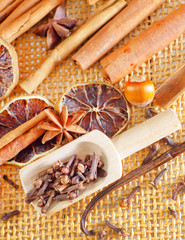 Cocoa and aroma spices