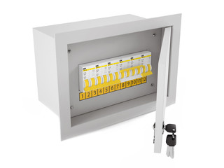 individual electricity distribution box