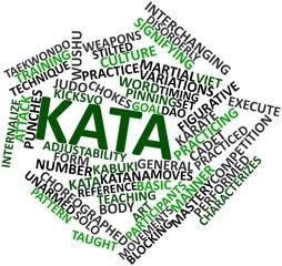 Word cloud for Kata