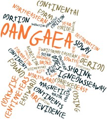 Word cloud for Pangaea