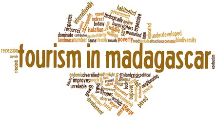 Word cloud for Tourism in Madagascar