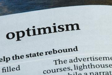 Word Optimism