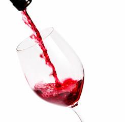 Fototapete - Rotwein einschenken
