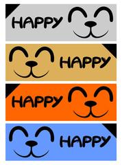 Happy pet cards