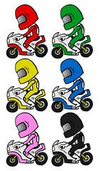 Cartoon racing
