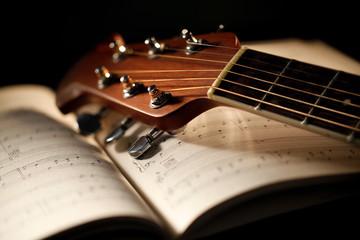 Wall Mural - chitarra acustica