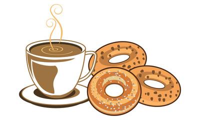 Breakfast icon_Bagel