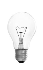 Clear Light Bulb With Filament