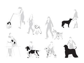 The World of Dog Shows - illustration