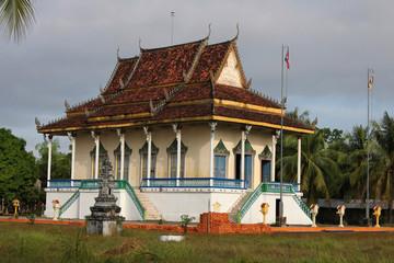 Petite pagode blanche sur l'île de Trong