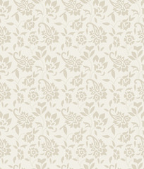 Paisley background for invitation card
