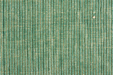 green striped fabric background