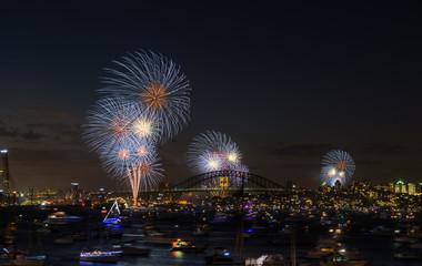 Fireworks Sydney new year eve 2013