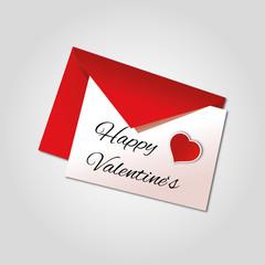 Liebe - Herz - Valentinstag - Brief