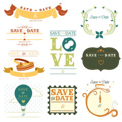 Save the date tag