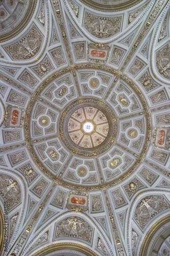 Kunsthistorisches Museum Wien Kuppel Vestibül Stock Photo And