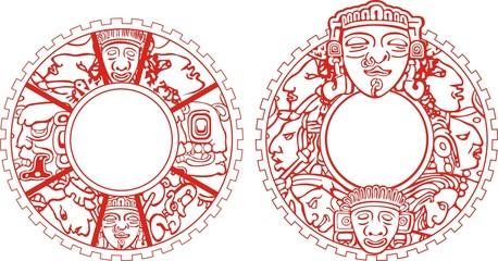 медальон Майя