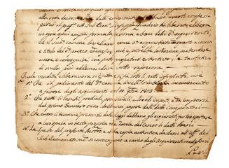 antique handwriting