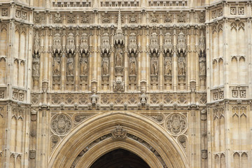Victoria Tower at the Houses of Parliament