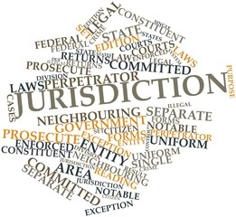 Word cloud for Jurisdiction