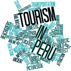 Word cloud for Tourism in Peru