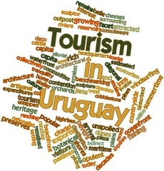 Word cloud for Tourism in Uruguay
