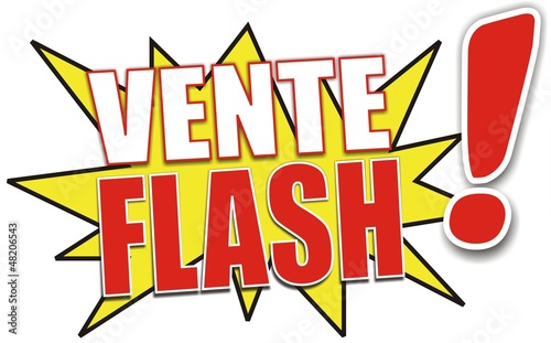 Tiquette vente flash fichier vectoriel libre de droits sur la ba - Vente flash televiseur ...