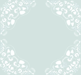ornament floral background