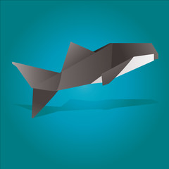 Origami Killer Whale