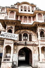 Old buildings in Jaipur, India