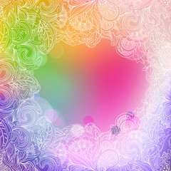 Abstract designer template background
