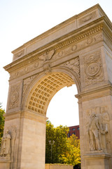 The arch in Washington Square, New York