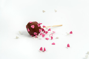 Cake Pop heart for valentine´s day and other celebrations