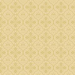 Vintage floral background. Seamless pattern. Luxury background