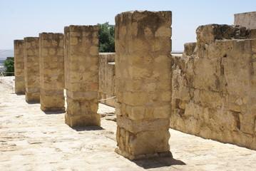 ancient roman ruins in caesarea, Israel