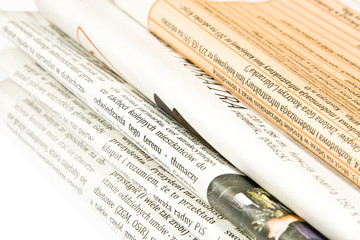 Fotobehang Kranten Gazety
