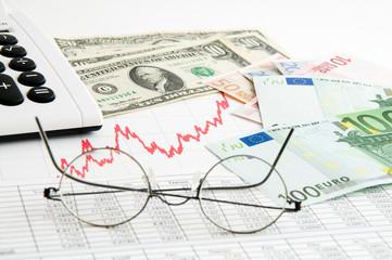 Devisenkurs Euro - USD
