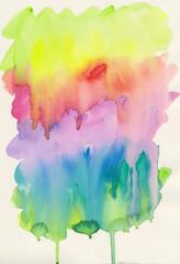 Abstrakter Aquarell Hintergrund mit Farbverläufen