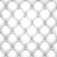 Keuken foto achterwand Leder White vector upholstery leather pattern background.