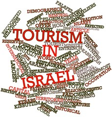 Word cloud for Tourism in Israel