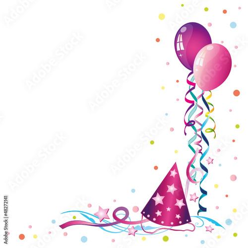 Luftballons Karneval Fasching Rosenmontag Stockfotos Und