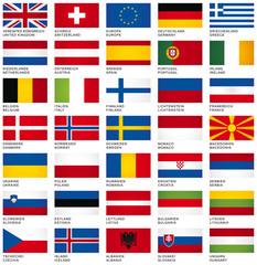 FLAG SET *** Europe