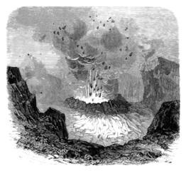 Volcano : Eruption