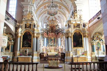 Choeur de l'église d'Ebersmunster