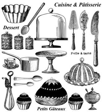 Elements de pâtisserie