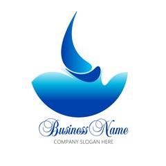 boat  yacht logo business