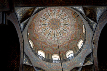 Interior of the Echmiadzin cathedral, Armenia