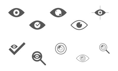 Iconset Auge/Fokus
